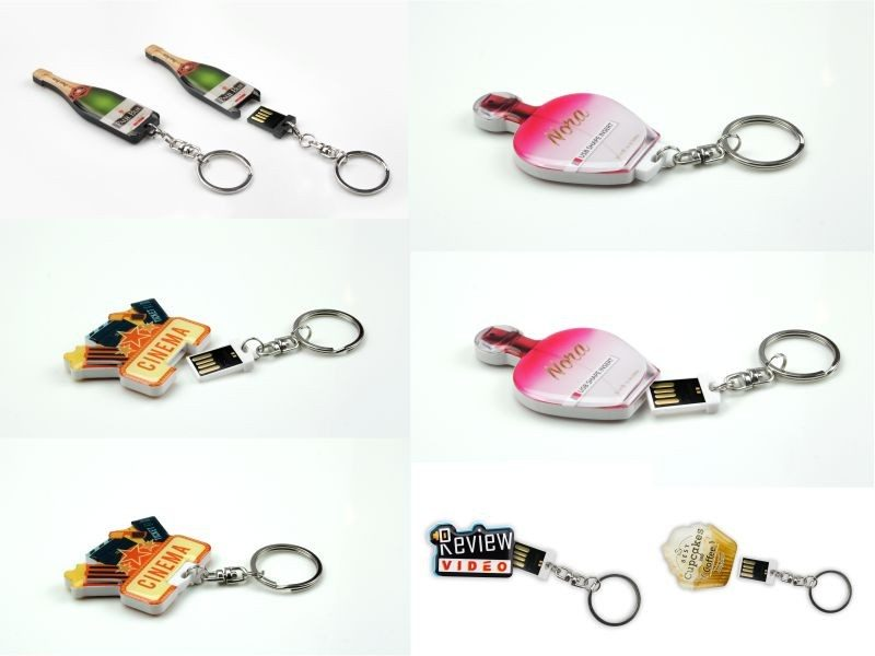 USB Flash Bellekler Shape Insert