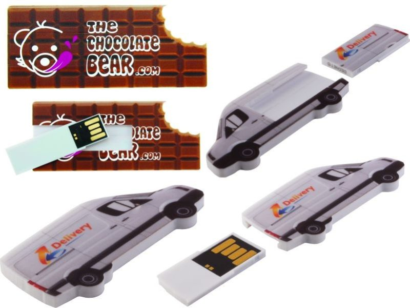 USB Flash Bellekler Shape Slide